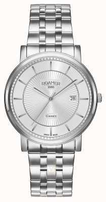 Roamer Classic Line | Stainless Steel Bracelet | Silver Dial 709856-41-17-70