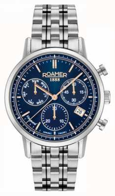Roamer | Mens | Vanguard Chrono ll | Stainless Steel Bracelet | 975819-41-45-90