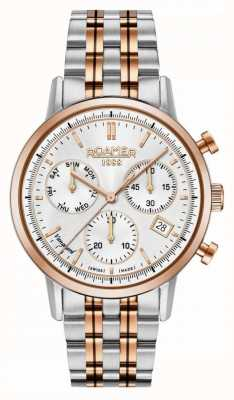 Roamer | Mens | Vanguard Chrono ll | Two Tone Stainless Steel | 975819-49-15-90