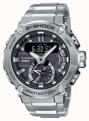 Casio G-STEEL G-Shock Bluetooth Link 200m WR Stainless Steel GST-B200D-1AER
