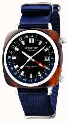 Briston Clubmaster GMT Limited Edition | Automatic | Blue Nato Strap 19842.SA.T.9.NNB