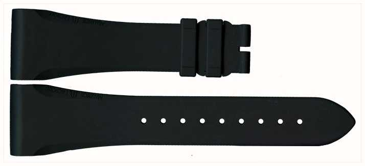 Maurice Lacroix Black Rubber Strap ONLY ML640-000020