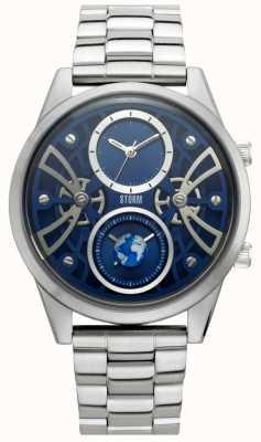 STORM | Globe-X Blue | Stainless Steel Bracelet | Blue Dial | 47441/B