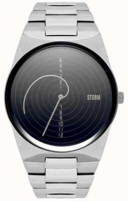 STORM | Fibon-X Black | Stainless Steel Bracelet | Black Dial | 47444/BK