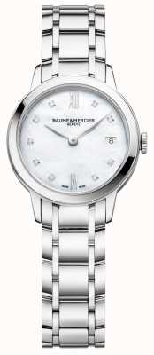 Baume & Mercier | Womens Classima | Stainless Steel | Mother Of Pearl Dial | M0A10490