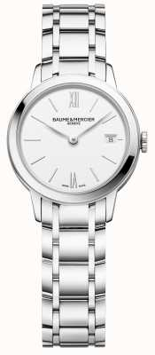 Baume & Mercier | Womens Classima | Stainless Steel Bracelet | White Dial | M0A10489
