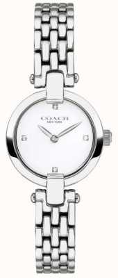 Coach | Womens | Chrystie | Steel Bracelet | White Dial | 14503390
