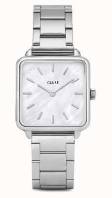 CLUSE | La Tétragone | Stainless Steel Bracelet | Mother Of Pearl CL60025S