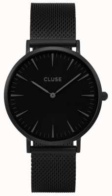 CLUSE | La Bohème | Stainless Steel Black Mesh Strap | CL18111 | CW0101201005