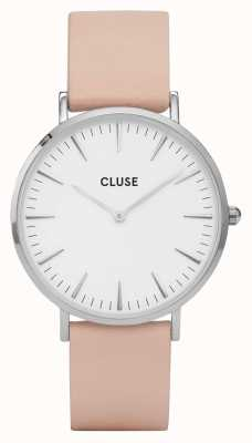 CLUSE | La Bohème | Nude Leather Strap | Rose Gold Case | CL18231