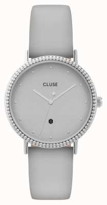 CLUSE | Le Couronnement | Grey Leather Strap | Grey Dial | CL63004