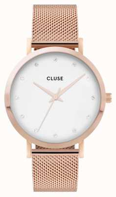 CLUSE | Pavane | Rose Gold Mesh | White Dial | CL18303 CW0101202002