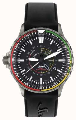 Sinn EZM 7 The Mission Timer 7 Black Silicone Strap 857.030