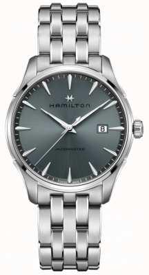 Hamilton | Jazzmaster | Stainless Steel Bracelet | Black/Grey Dial | H32451142