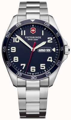 Victorinox Swiss Army | Mens Fieldforce | Stainless Steel Bracelet | Blue Dial | 241851