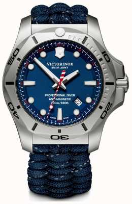 Victorinox Swiss Army | Mens I.N.O.X Professional Diver | Blue Dial | Blue Strap 241843