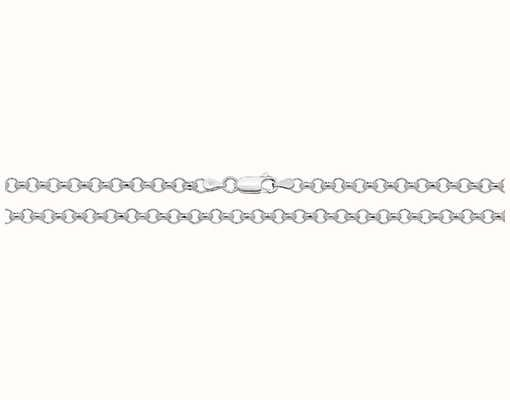 "Treasure House Silver Belcher Chain 20"" G1030/20"