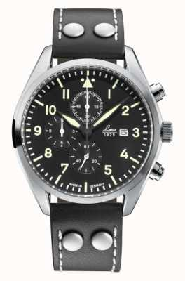 Laco TRIER |Quartz Chronograph | Black Leather 861915