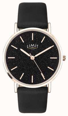Limit | Women's Secret Garden | Black Leather Strap | Black Dial | 60045.73