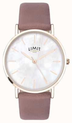 Limit | Womens Secret Garden | Pink Strap | Mother Of Pearl Dial 60048.73