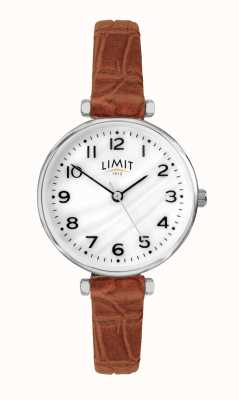 Limit | Women's Brown Leather Strap | Mother Of Pearl Dial | 60060.01