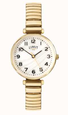 Limit | Women's Gold Plated Bracelet | Mother Of Pearl Dial | 60063.01