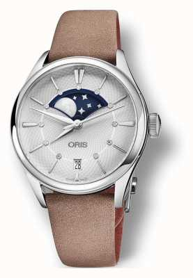 Oris Oris Artelier Grande Lune 36 mm Light Brown Strap 01 763 7723 4051-07 5 18 33FC