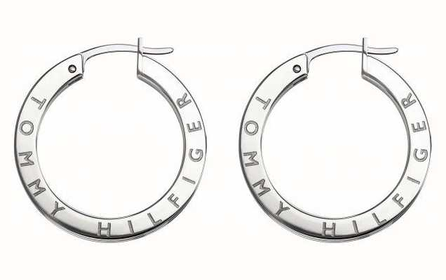 Tommy Hilfiger Womens Stainless Steel Crystal Set Earrings 2780205
