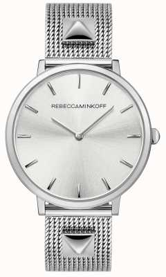 Rebecca Minkoff Womens Major | Stainless Steel Mesh | Silver Dial | 2200001
