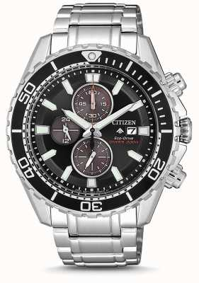 Citizen | Mens Eco-Drive Promaster Diver | Stainless Steel Bracelet CA0711-80H