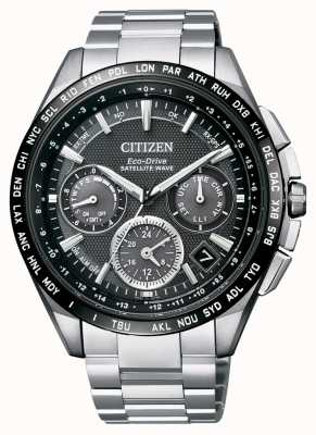 Citizen | Mens Eco-Drive Satellite Wave GPS | Titanium Bracelet | CC9015-62E