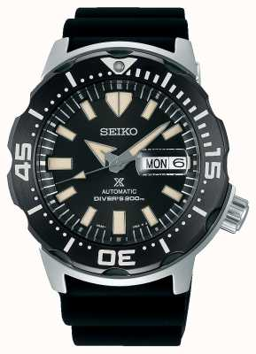 Seiko Prospex Monster Automatic Divers | Black Rubber Strap | SRPD27K1
