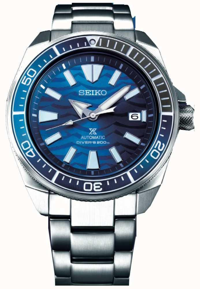 Seiko Prospex Samurai Save The Ocean Automatic   Stainless Steel  