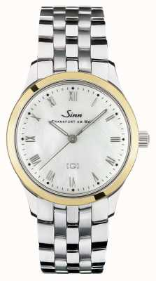 Sinn 434 St GG Mother-of-pearl W Stainless Steel Bracelet 434.021