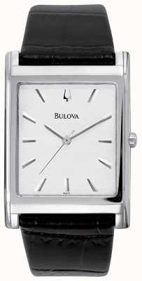 Bulova Mens Automatic | Stainless Steel Bracelet | Silver Dial 96A238