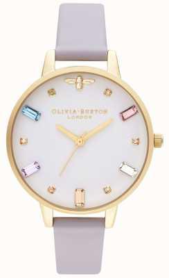 Olivia Burton | Womens | Rainbow Bee | Demi Parma Violet Strap | OB16RB11