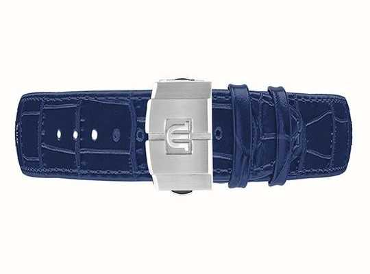 Maurice Lacroix AIKON Blue Calf Leather Strap Only 22mm Clasp Included ML740-005052-ML508-005008