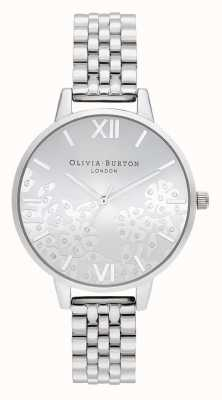 Olivia Burton | Womens | Bejewelled Lace | Stainless Steel Bracelet | OB16MV101