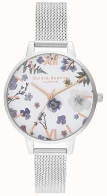 Olivia Burton | Womens | Artisan | Stainless Steel Mesh Bracelet | OB16AR09