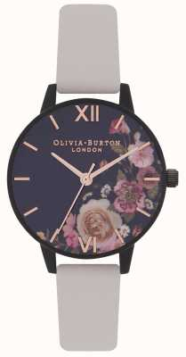 Olivia Burton | Womens | After Dark Floral | Vegan Nude Strap | OB16AD30