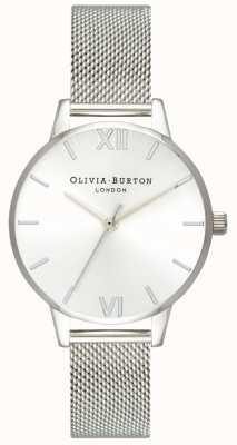 Olivia Burton | Womens | Sunray Midi Dial | Steel Mesh Bracelet | OB16MD86