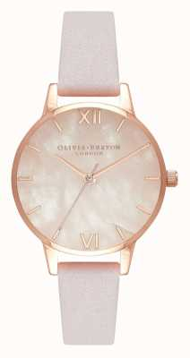 Olivia Burton | Womens | Semi Precious | Blossom Leather Strap | OB16SP02