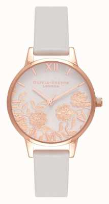 Olivia Burton | Womens | Lace Detail | Blush and Rose Gold | OB16MV69