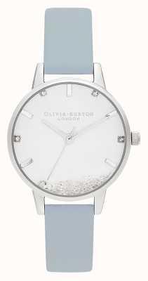 Olivia Burton | Womens | The Wishing Watch | Vegan Chalk Blue Strap | OB16SG07