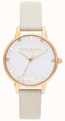 Olivia Burton | Womens | The Wishing Watch | Vegan Nude Strap | OB16SG09
