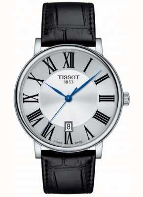 Tissot | Carson Quartz | Black Leather | Silver Dial | T1224101603300