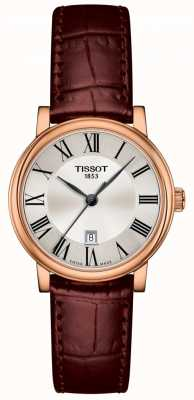 Tissot | Carson Premium Lady | Brown Leather Strap | T1222103603300
