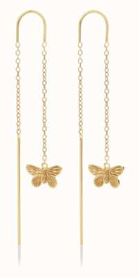 Olivia Burton | 3D Butterfly | Gold | Threader Earrings | OBJMBE10