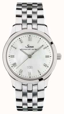 Sinn St Mother-of-pearl W Stainless Steel Bracelet 434.011