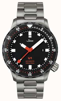 Sinn Diving Watch U1 SDR Metal Bracelet Version 1010.040